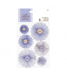 Pack 6 molinillos de papel French Lavender