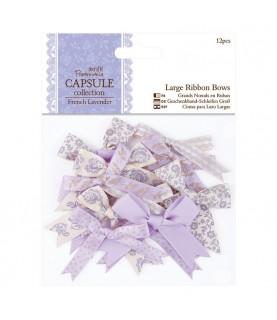 Pack de 12 lazos mod French Lavender