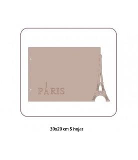 Albúm cartón Paris 30x20 cm