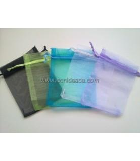 Pack de 5 bolsas de organza 12x9cm