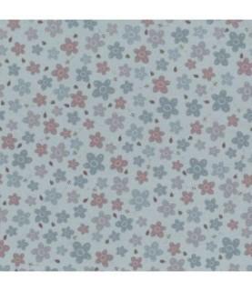 Tela algodón pocketful of daisies agua (08)