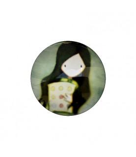 Cabuchon muñeca 25 mm mod 36