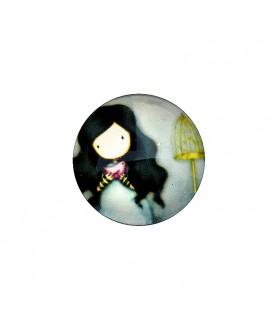 Cabuchon muñeca 25 mm mod 28