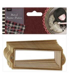 Pack 6 marcos de metal gorjuss
