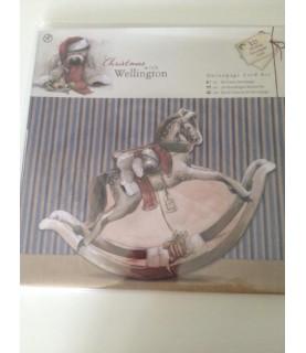 Kit de tarjetas de decoupage navidad