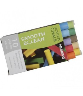 Caja de 10 tizas de colores