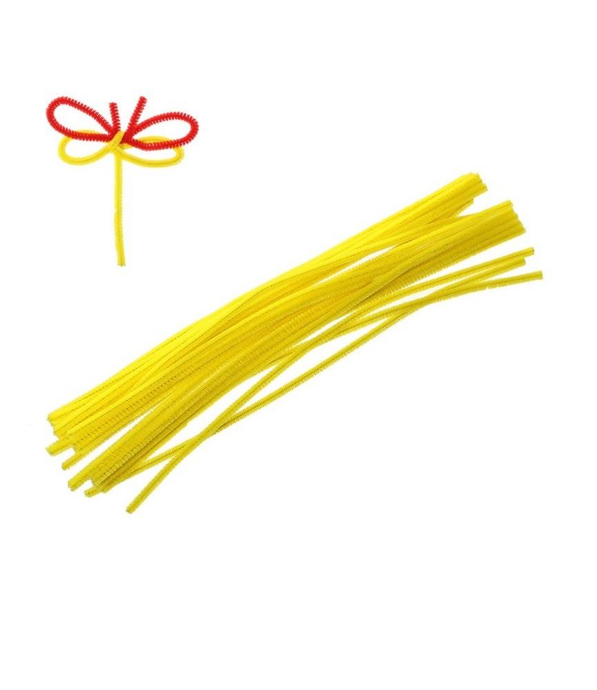 pack 10 Limpiapipas color amarillo