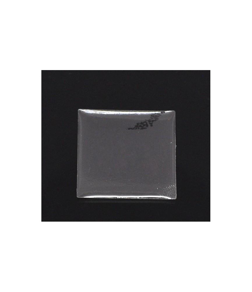 Pack 12 Cabuchon adhesivo cuadrado 25x25mm