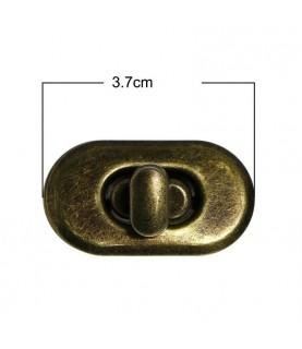 Cierre para bolsos Mod 2 bronce