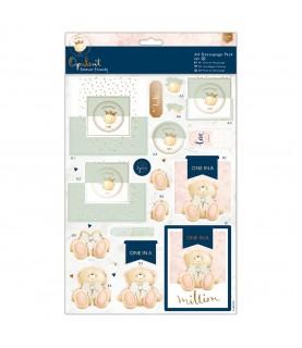 Pack A4 4 laminas de decoupage opulent