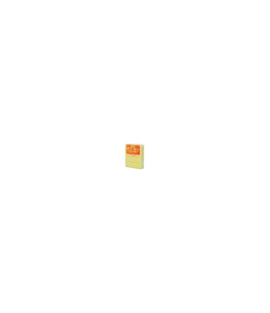 Pasta para modelar fluorescente amarillo