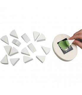 Set de 8 esponjas triangulares para pintar
