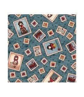 Comprar Tela gorjuss My story marcos azul de Conideade
