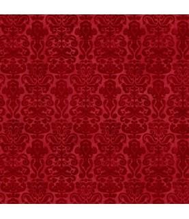 Tela gorjuss My story mosaico rojo