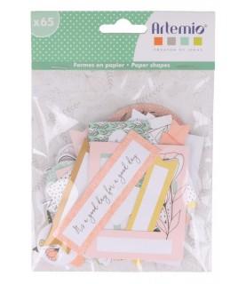 Comprar Pack 65 formas y etiquetas de papel Good Vibes de Conideade