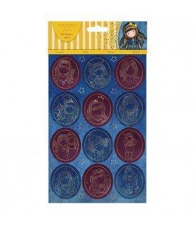 Comprar Pack 44 pegatinas brillantes de gorjuss de Conideade