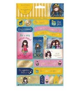 Comprar 2 Hojas con pegatinas de dedicatorias de cumpleaños de Conideade