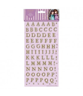 Alfabeto de cartón adhesivo Gorjuss