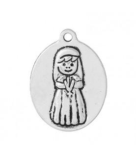Medalla comunion niña