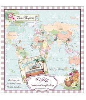 Comprar Libro scrap fiesta tropical 24 hojas de Conideade