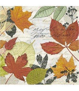 Comprar Servilleta para decoupage hojas otoño de Conideade