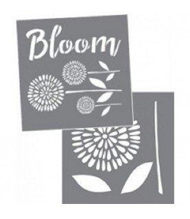 Comprar Set 2 Plantillas 20x 20 cm Flores de Conideade