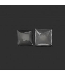Cabuchon de cristal de 18 x 18 mm