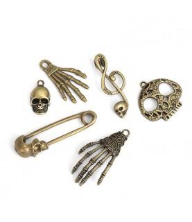 Comprar Conjunto de charms halloween bronce de Conideade