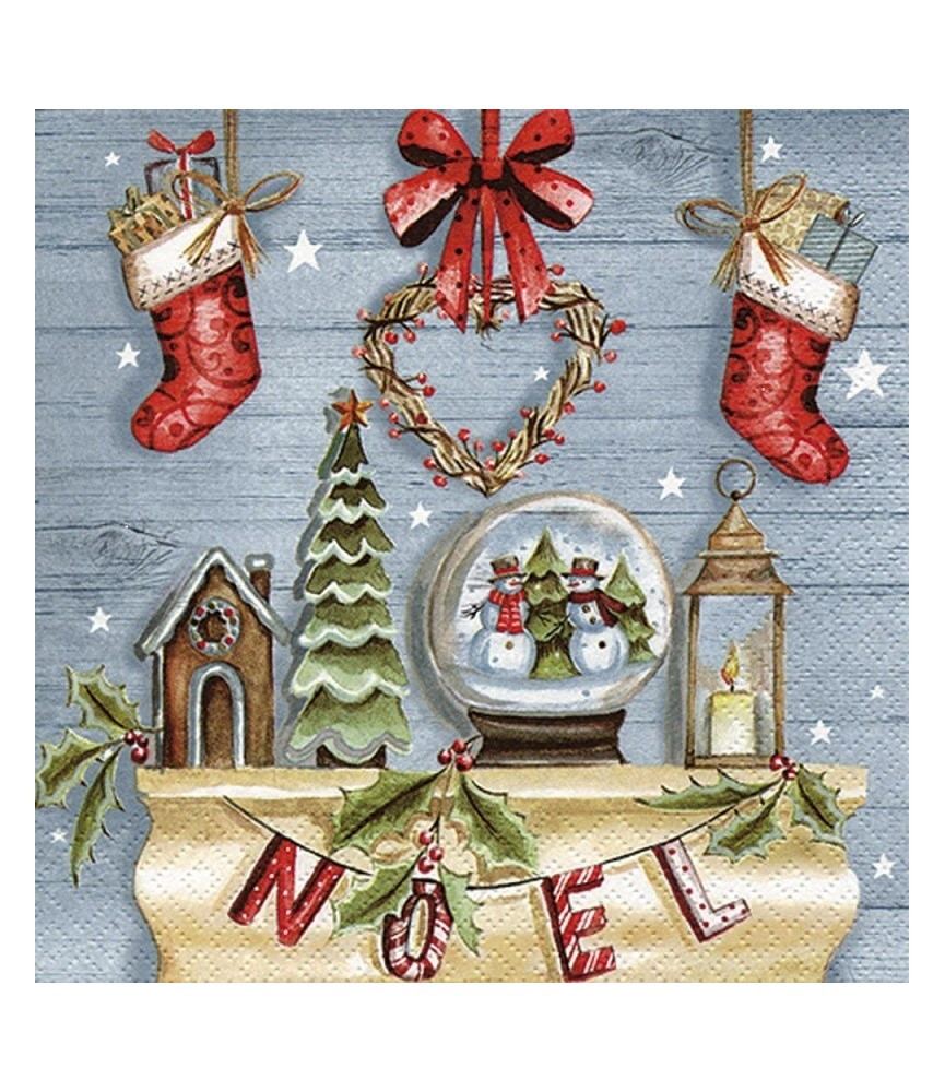 Servilleta para decoupage decorcion de navidad