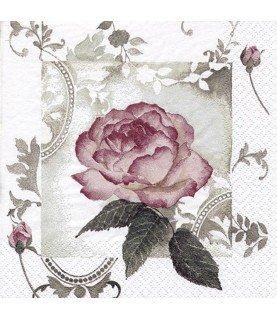 Comprar Servilleta para decoupage cuadro rosa de Conideade