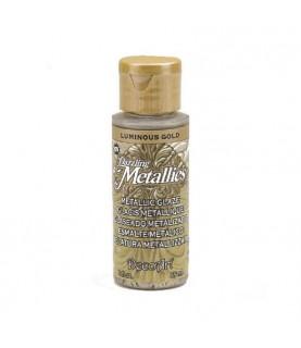 Veladura metalizada Dazzling Metallics luminous gold 60 cc