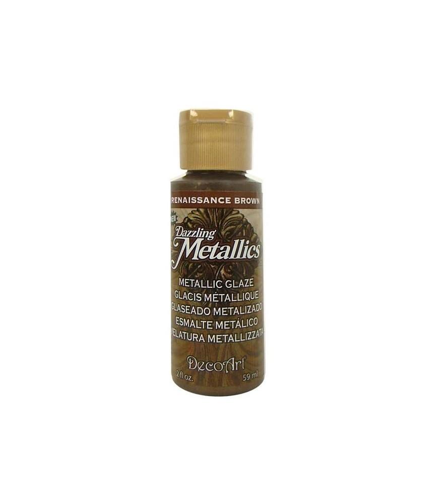 Veladura metalizada Dazzling Metallics brown 60 cc