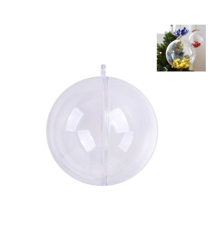 Bola de plastico 10 cm sin separador