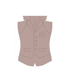 Comprar Silueta patron chico corbata de Conideade