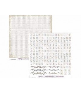 Comprar Papel scrap abecedario Bebe de Conideade
