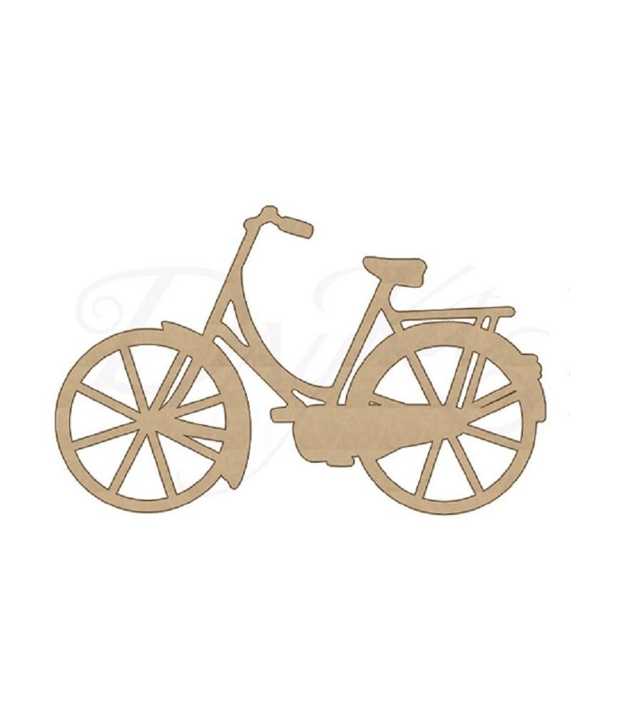 Silueta DM bicicleta de 47 x 30cm