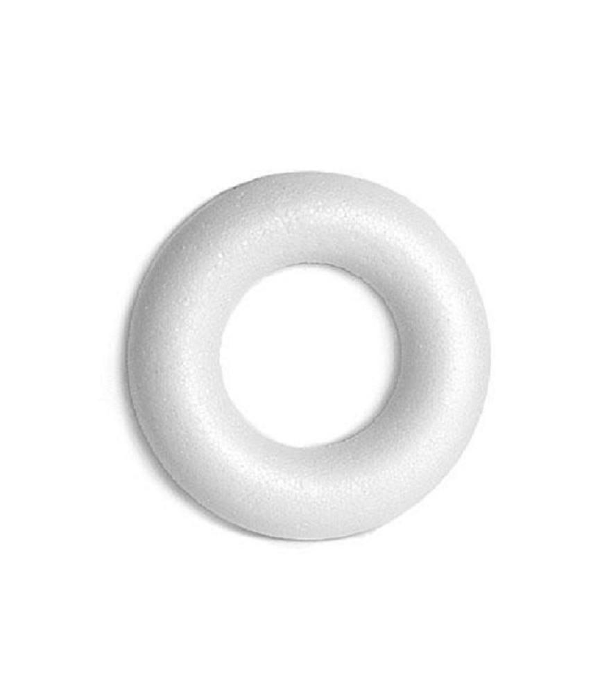 Corona de porex plana de 30 cm