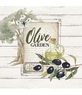 Comprar Servilleta para decoupage olivas de Conideade