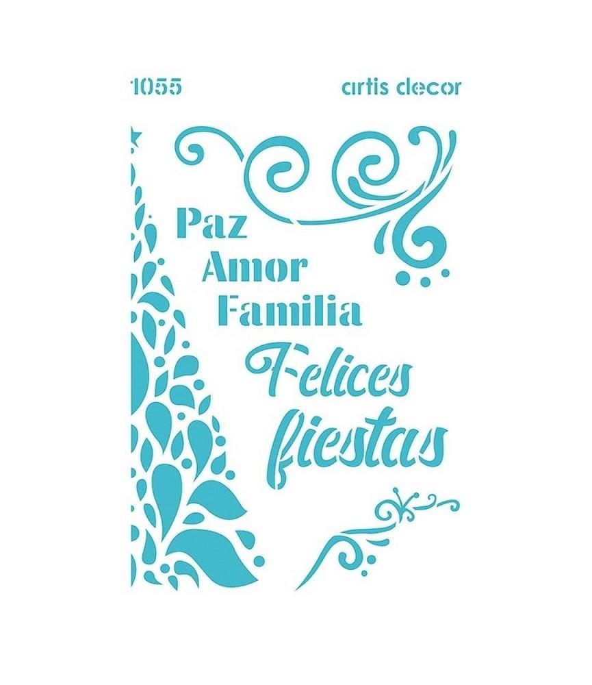 Plantilla 20x28,5 felices Fiestas