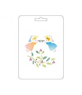 Comprar Plantilla stencil acetato angeles de Conideade