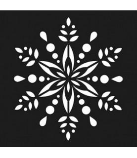 Comprar Plantilla flor navidad 15x15cm de Conideade