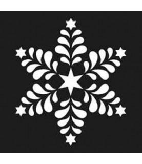 Comprar Plantilla copo navidad 15x15cm de Conideade