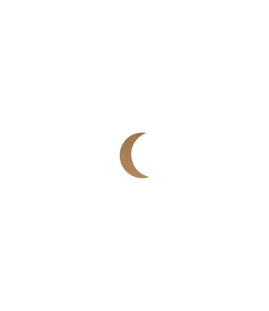 Silueta de MDF Luna