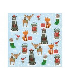 Comprar Servilleta animales de navidad de Conideade