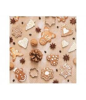 Comprar Servilleta galletas de navidad de Conideade