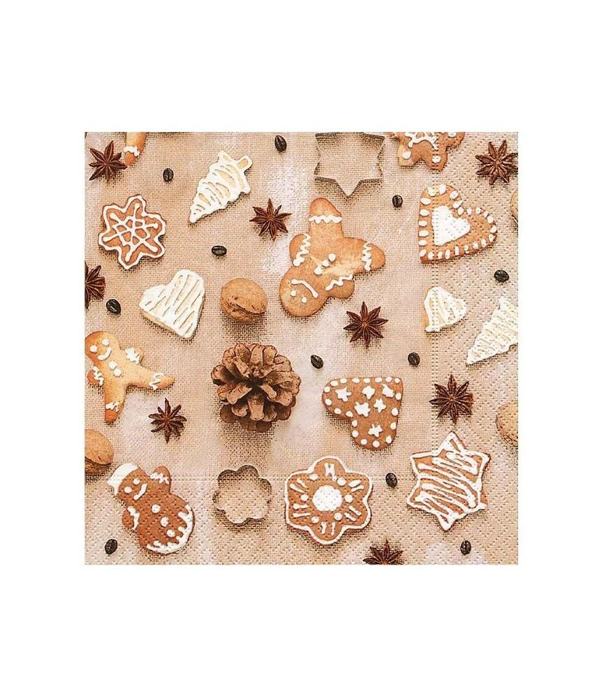 Servilleta galletas de navidad