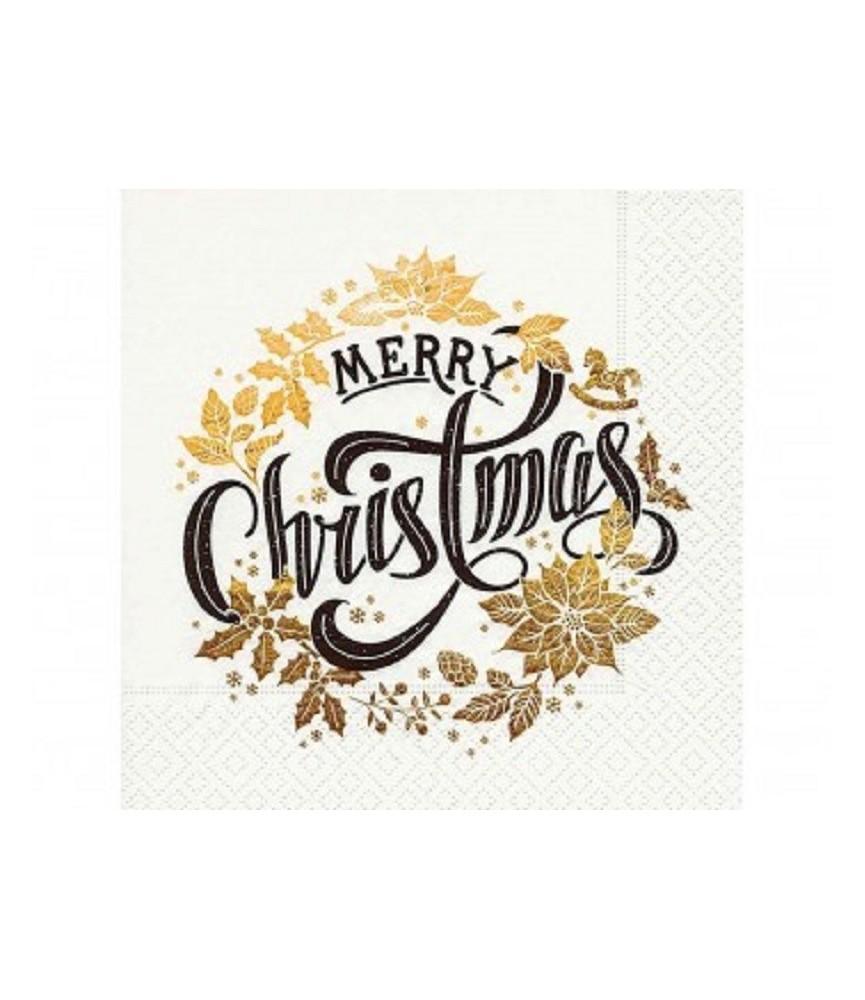Servilleta Merry Christmas