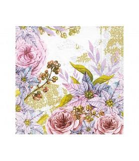 Imagén: Servilleta flores dreamy