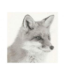 Comprar Servilleta con zorro de invierno de Conideade