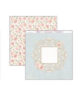 Comprar Papel scrap Romance flores 30x30 de Conideade